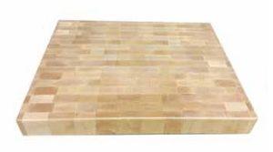 tagliere legno a cubetti