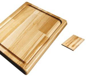 tagliere legno rettangolare c-canalina